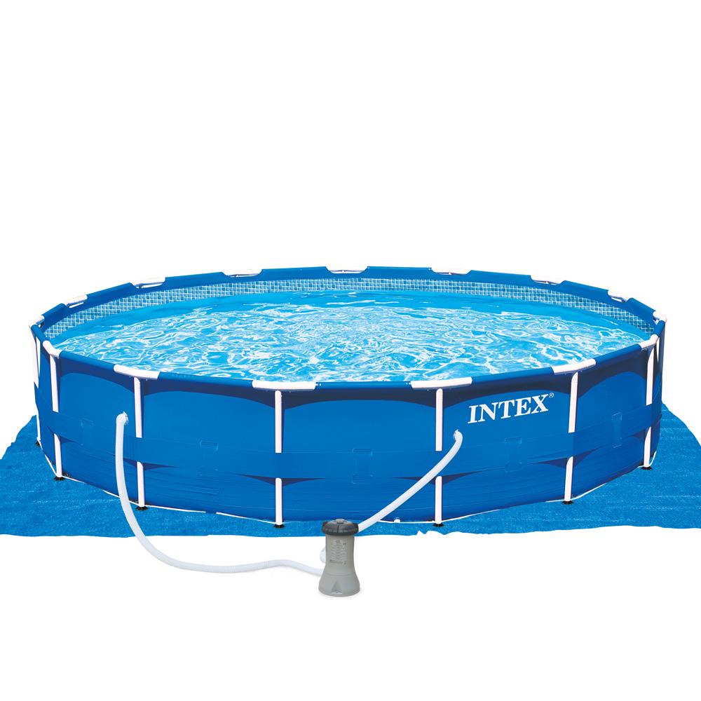 metal frame pool pools123. Black Bedroom Furniture Sets. Home Design Ideas