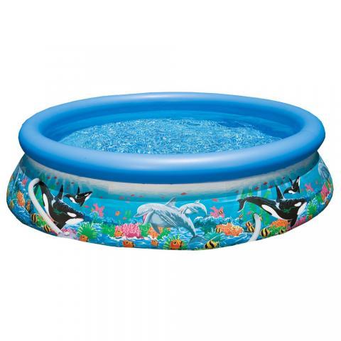 Πισίνα Easy Set Ocean Reaf Combo με φίλτρο