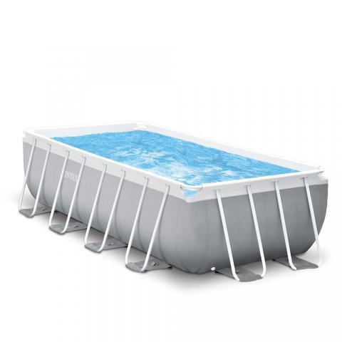 PRISM Παραλληλόγραμμη Πισίνα με Μεταλλικό Σκελετό