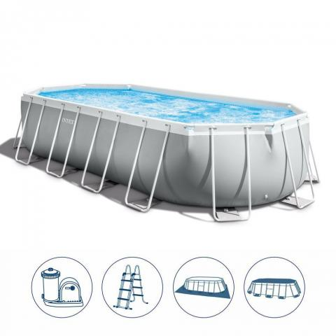 PRISM Oval Frame Pool