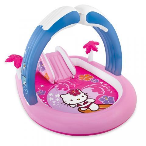 Πάρκο - Πισίνα με τσουλίθρα Hello Kitty
